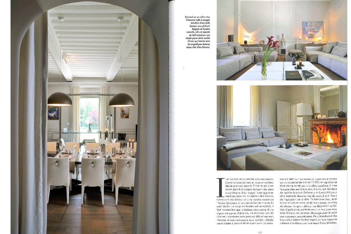 Presse 2010 les plus beaux int rieurs dovy elmalan for Les plus beaux escaliers interieur