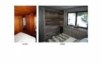 chambre parents - avant et après travaux