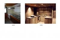 cuisine - avant et après travaux