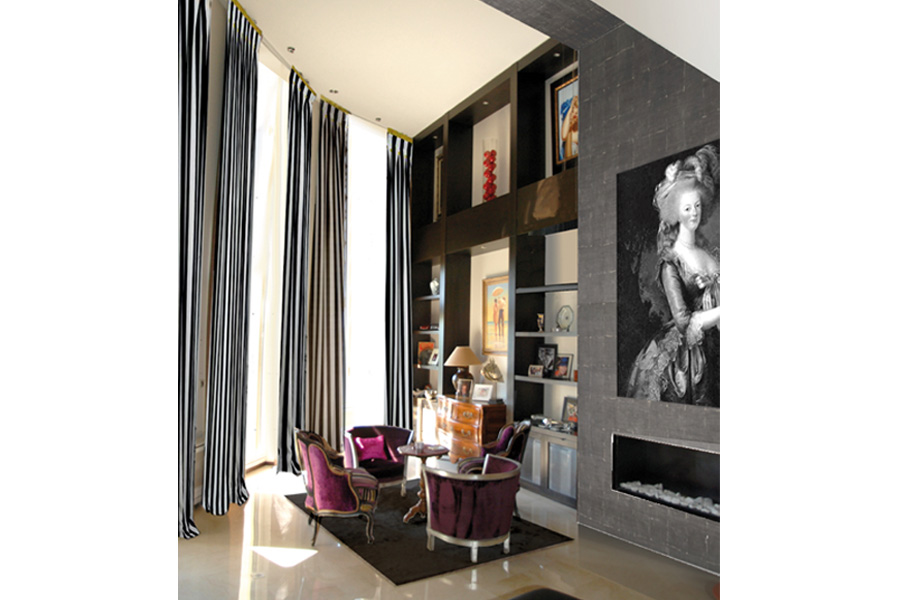 decoration d un salon caluire et cuire dovy elmalan transformation d 39 espaces. Black Bedroom Furniture Sets. Home Design Ideas