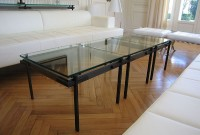 tables basses en serrurerie